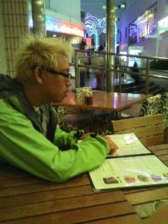 極寒のお外で晩御飯.JPG